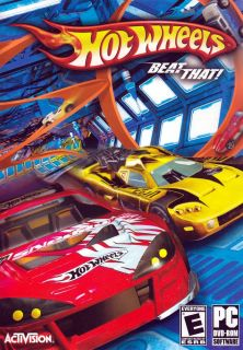 New Hot Wheels Beat That Car Racing DVD ROM PC Game