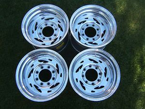 "Weld Racing Wheels Scorpio 5 16 5"" x 9 75"" Rims 8 Lug Ford F250 F350 Military Oz"