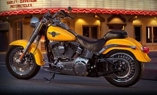 Harley Davidson Motorcycles Fat Boy