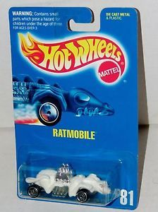 Hot Wheels Ratmobile Blue Card Ultra Hots Collector 81 Malaysia 1991