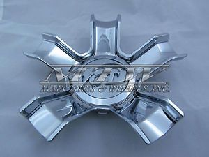 Zinik Z 24 VCT Wheels Chrome Custom Wheel Center Cap