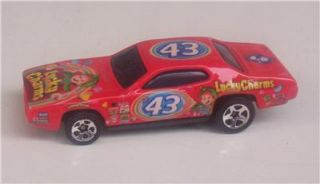 1971 Plymouth GTX Lucky Charms 43 Petty Le Hot Wheels Car