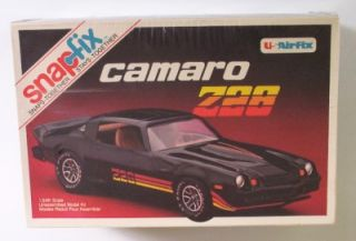 Chevy Camaro Z28 T Top 1 24 SEALED Model Kit Vtg 1980 8043