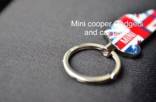 Britcar Key Ring for R56 R57 R58 R60 JCW Mini Cooper Coupe Countryman Clubman