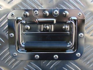 "Aluminum Tool Box Tote Storage for Truck Pickup Bed Trailer Tongue 49""x15"" Lock"