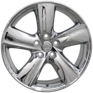 "18"" Chrome LS460 Style Replica Wheel 18x8 Toyota Scion Fits Lexus"
