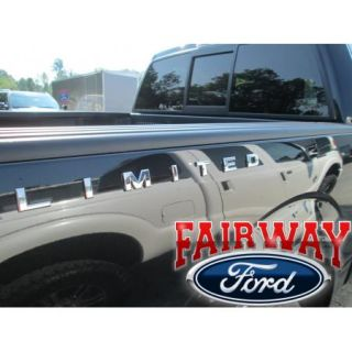 F 150 F 250 F 350 Genuine Ford Parts Limited Bedside Chrome Emblem Decal