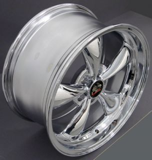 "18"" Chrome Bullitt Bullet Bullet Wheels Rims Fit Mustang® GT"