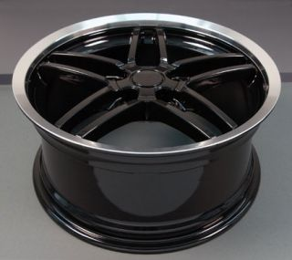 "17"" Rims Fit Camaro Corvette C6 Z06 Deep Dish Wheels"