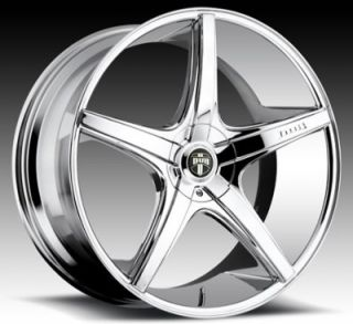 "22"" Dub RIO5 for Lexus Wheels and Tires Rims Infiniti LS Is ES GS 350 400 450"