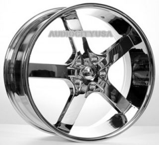 "22"" inch AC55 Wheels and Tires Rims for 300C Charger Magnum Challenger"