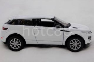 RMZ City Diecast Car Land Range Rover Evoque White Collection Christmas Gift New