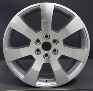 "18"" Machined Silver Cadillac SRX Wheels Set of 4 Rims 4607"