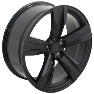 "20""x8 5"" Camaro ZL1 Wheels Matte Black 20x8 5 Set of 4 Rims Fits Chevrolet"