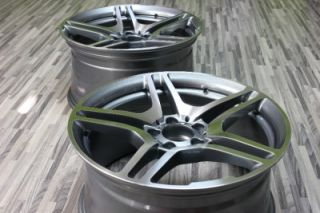 19 AMG Style Staggered Wheels Rim 5x112 Mercedes Benz C CL CLK CL E s SLK SL