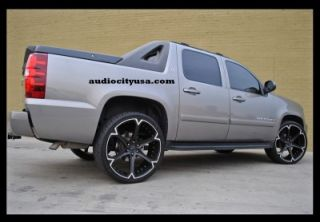 26 inch Giovanna DALAR6V Wheels Rims Chevy Tahoe Yukon Escalade Rim H3 Wheel