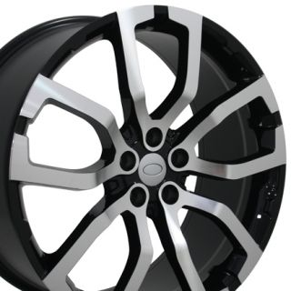 "22"" Black Polished Wheel Rim Fits Range Land Rover HSE Sport LR3 LR4"