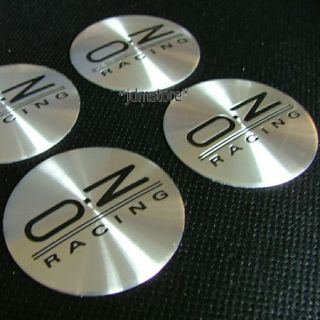 Oz Racing Wheel Stickers Badges Emblems 4pcs Fit Honda SI Civic Accord Integra
