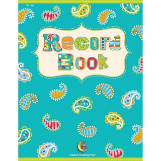 Creative Teaching Press Record Book Dots On Turquoise