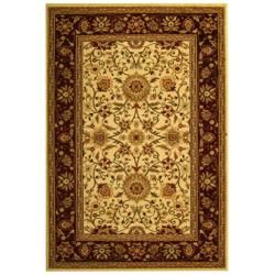 Lyndhurst Collection Majestic Ivory/ Red Rug (9' x 12') Safavieh 7x9   10x14 Rugs