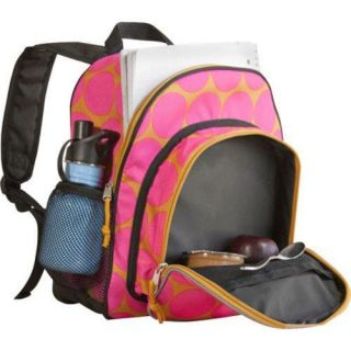Wildkin Pack 'n Snack Backpack Big Dots Hot Pink Wildkin Lunch Totes