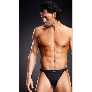 Emaje' Men's Performance Black Microfiber Low Profile Jock Strap (Set of 3) Emaje Lingerie