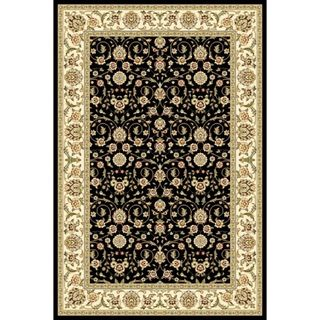 Lyndhurst Collection Traditional Black/ Ivory Runner Rug (4' x 6') Safavieh 3x5   4x6 Rugs