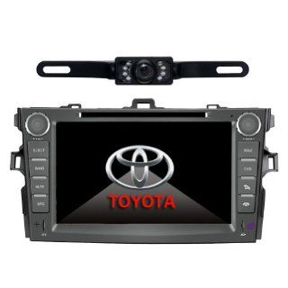 Tyso For TOYOTA Corolla (support year 2007 2008 2009 2010) 8 inch Indash CAR DVD Player GPS Navigation Navi iPod Bluetooth Rear Camera HD Touchscreen TV Radio RDS FM PIP Free Map CD8963R  In Dash Vehicle Gps Units  GPS & Navigation