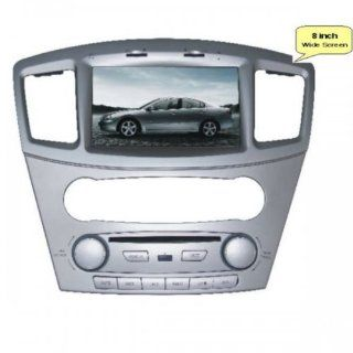 Pioeneer Intelligent (2008 2011) Mitsubishi Galant 6 8 Inch Touchscreen Double DIN Car DVD Player & In Dash Navigation System,Navigator,Build In Bluetooth,Radio with RDS,Analog TV, AUX&USB, iPhone/iPod Controls,steering wheel control, rear view cam
