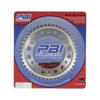 PBI Aluminum Rear Sprocket 44T   Suzuki DL1000 2002 2008 / DL650 2004 2008 / GSX R600 2001 2008 / GSX R750 2000 2008   6046 44 Automotive
