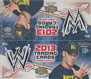 2013 Topps WWE Triple Threats Wrestling Trading Card HOBBY Box  Sports Related Trading Cards  Sports & Outdoors