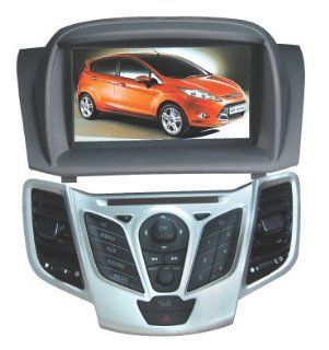Chilin 2010 2011 Ford Fiesta DVD Player Car Radio Audio GPS Navigation System, Support Bluetooth, Radio, Iphone/ipod Controls, steering wheel control  Vehicle Dvd Players   Players & Accessories