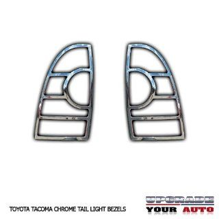 2005 2013 Toyota Tacoma Chrome Tail Light Bezels Automotive