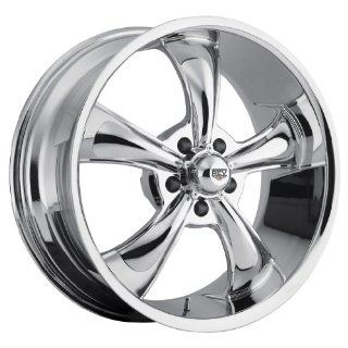 15 inch 15x8 Rev 105C chrome wheel rim; 5x4.75 5x120.65 bolt pattern with a +0 offset. Part Number 105C 5806100 Automotive