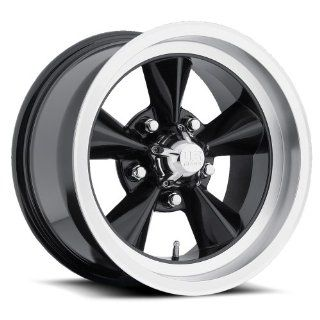 15 inch 15x7 US Mag U106 black machined wheel rim; 5x4.5 5x114.3 bolt pattern with a  6 offset. Part Number U10615706537 Automotive