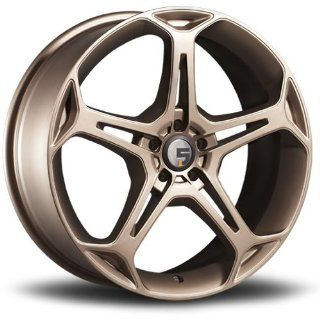 Five Axis X5F 18 Bronze Wheel / Rim 5x120 with a 35mm Offset and a 74.10 Hub Bore. Partnumber 5011 8812 35 Automotive