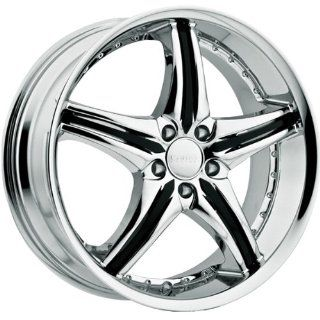 Cattivo 730 20x9.5 Chrome Wheel / Rim 5x112 with a 35mm Offset and a 74.10 Hub Bore. Partnumber 730295544+35C Automotive