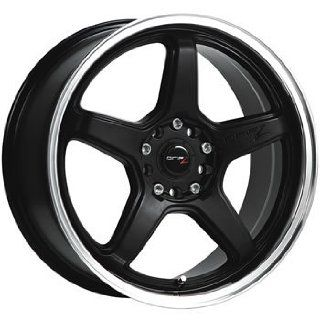 Drifz Circuit 15x6.5 Black Wheel / Rim 4x100 & 4x4.5 with a 42mm Offset and a 73.00 Hub Bore. Partnumber 304MB 5650342 Automotive