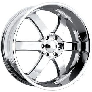 Boss 330 24 Chrome Wheel / Rim 6x5.5 with a 30mm Offset and a 108.20 Hub Bore. Partnumber 33064062 Automotive