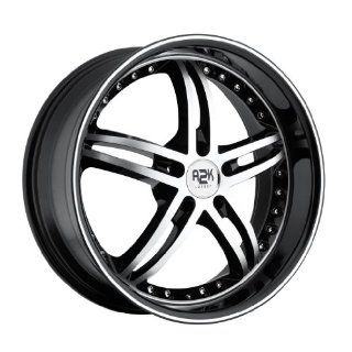 20 inch 20x10 Rev 339MB black machined wheel rim; dual drilled 5x4.5 5x114.3 / 5x115 with a +40 offset. Part Number 339MB 2106540 Automotive