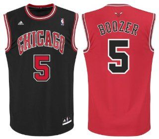 NBA adidas Carlos Boozer #5 Chicago Bulls Youth Revolution 30 Performance Jersey   Red  Sports Fan Jerseys  Sports & Outdoors