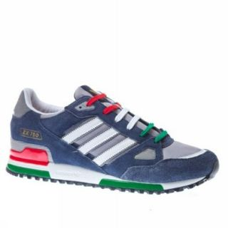 Adidas Trainers Shoes Mens Zx 750 Dark Blue Shoes
