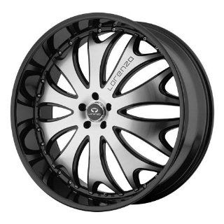 Lorenzo WL029 22x10 Black Wheel / Rim 5x120 with a 38mm Offset and a 74.10 Hub Bore. Partnumber WL02922052338 Automotive