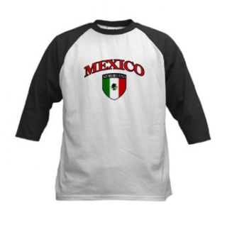 Artsmith, Inc. Kids Baseball Jersey Mexico Numero Uno Mexican Flag Clothing