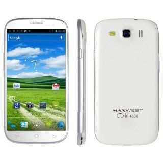 "Maxwest Orbit 4600 4.7"" FWVGA screen Unlocked Android Jelly Bean 4.2.2 OS Dual Core, Dual Sim   Cell Phones & Accessories"