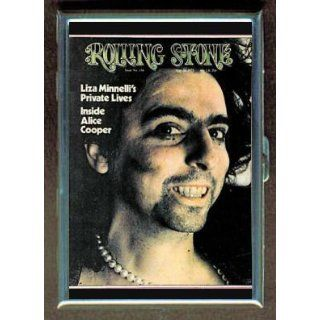 ALICE COOPER '73 ROLLING STONE ID CIGARETTE CASE WALLET at  Men�s Clothing store