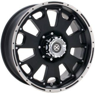 American Racing ATX Vice 17x9 Black Wheel / Rim 6x5.5 with a  12mm Offset and a 108.00 Hub Bore. Partnumber AX10767983 Automotive