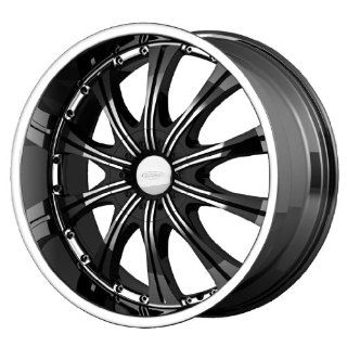 Diamo DI030 20x8.5 Black Wheel / Rim 5x112 & 5x4.5 with a 38mm Offset and a 72.60 Hub Bore. Partnumber DI03028546338 Automotive