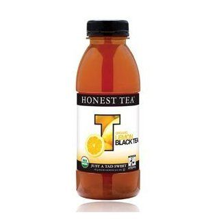 Honest Tea Lemon Black Tea Fair Trade Certified Usda Organic 16.9 Ounce Bottles Case of 24 Grocery & Gourmet Food
