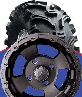 "ALL ALL KAWASAKI MULE 500/600/610 161 BLACK WHEEL KIT ON 27"" BEARCLAW (SET OF 4), Manufacturer VISION WHEELS, Manufacturer Part Number VWB16139 AD, Clutch springs and metal discs sold separately unless otherwise stated, Stock Photo   Actual parts ma"